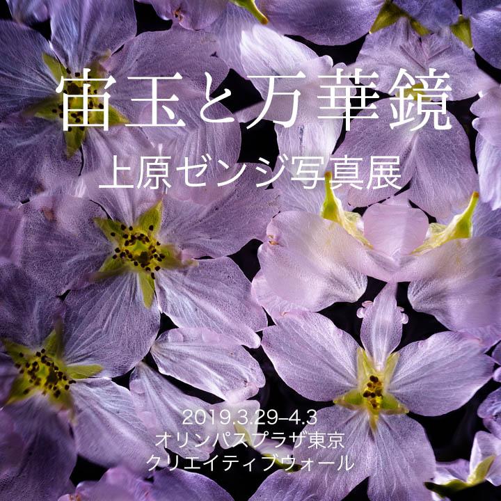 上原ゼンジ写真展 『宙玉と万華鏡』オリンパスプラザ東京